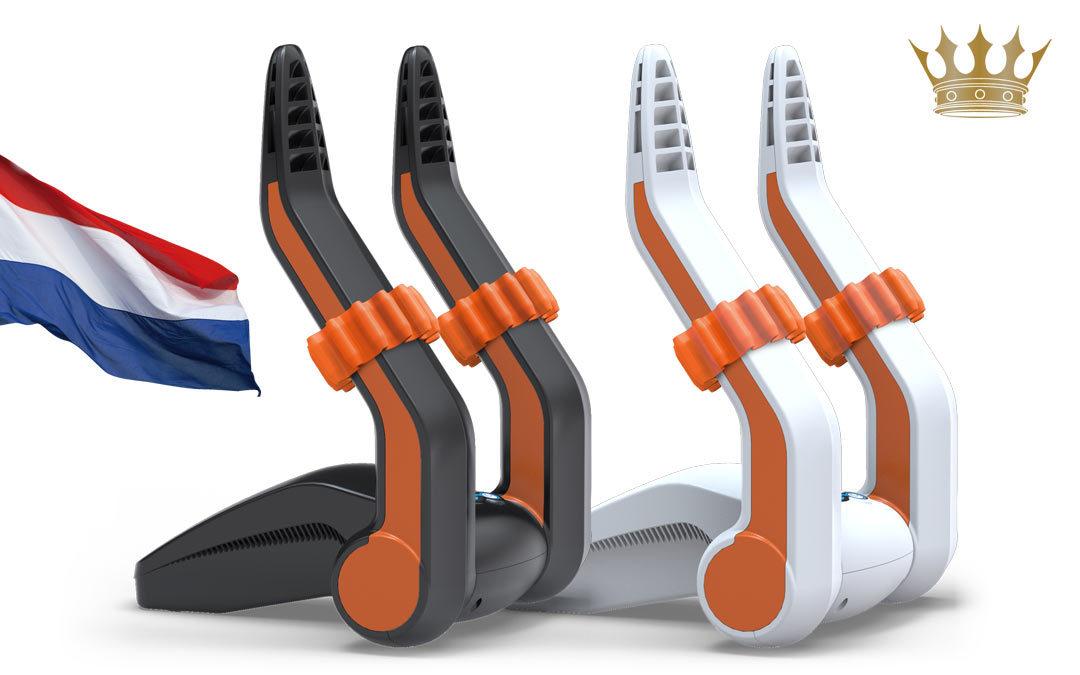 Koningsdag schoenendroger met gratis oranje adapters!